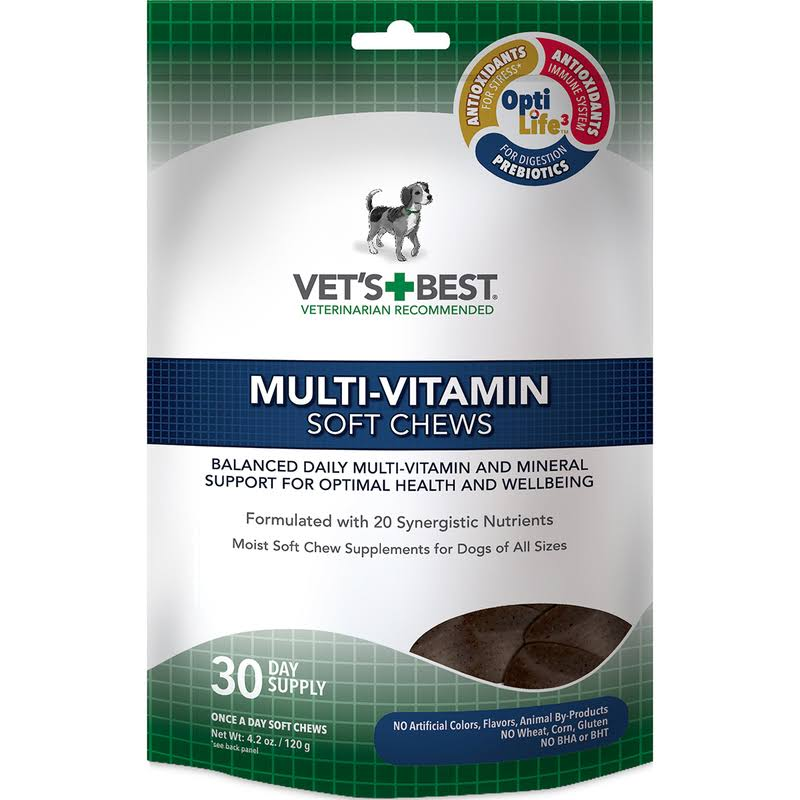Vet's Best Multi-Vitamin Soft Chews - 30 Day Supply
