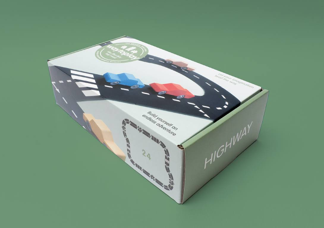 Waytoplay Highway Flexible Road Set