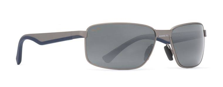 Maui Jim Backswing Sunglasses Satin Grey / Neutral Grey