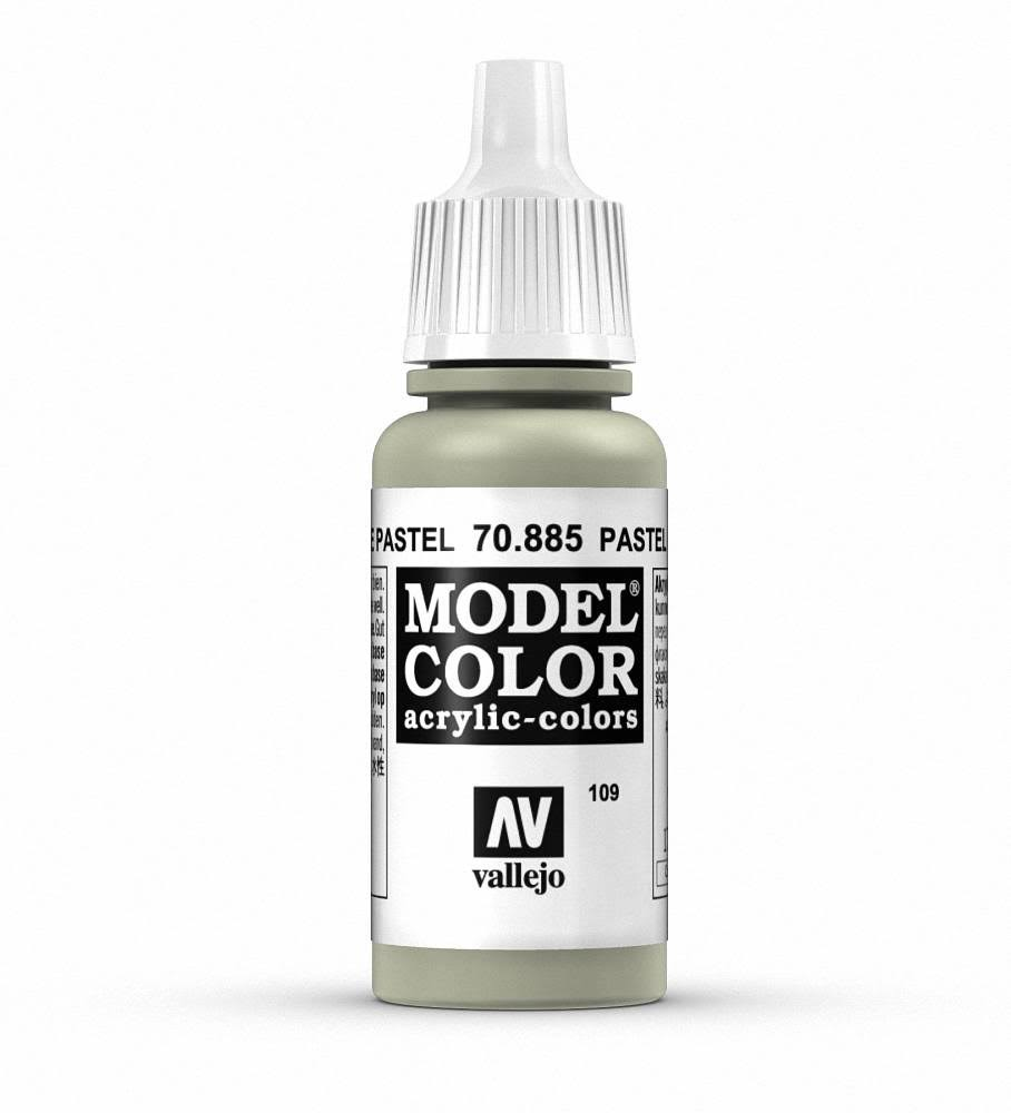 Vallejo Model Color Acrylic Paint - 17ml, Pastel Green