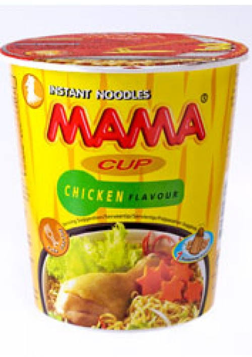 Mama Cup Oriental Style Instant Noodles - Chicken Flavour, 70g