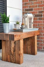 Build Your Own Outdoor Patio Table by Best 25 Diy Outdoor Table Ideas On Pinterest Outdoor Wood Table
