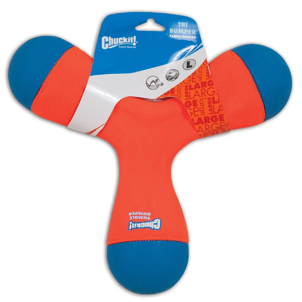 Chuckit Tri Bumper Dog Toy - Large