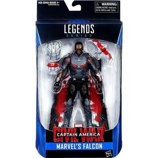 Marvel Legends Captain America: Civil War Action Figure - Falcon, 6""
