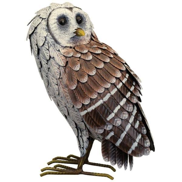 Regal Art & Gift 12447 - Barn Owl - Standing Home Decor Animal Figurin