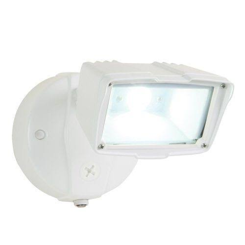 All Pro Outdoor Security Dusk to Dawn Led Floodlight - White, Small