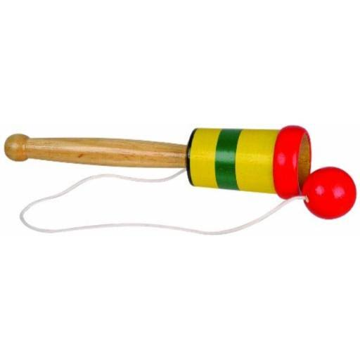 Toysmith Wooden Catch Ball Toy