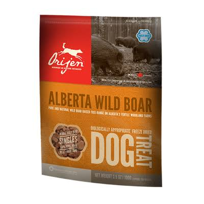 Orijen Freeze Dried Dog Treat - Wild Boar, 56.7g