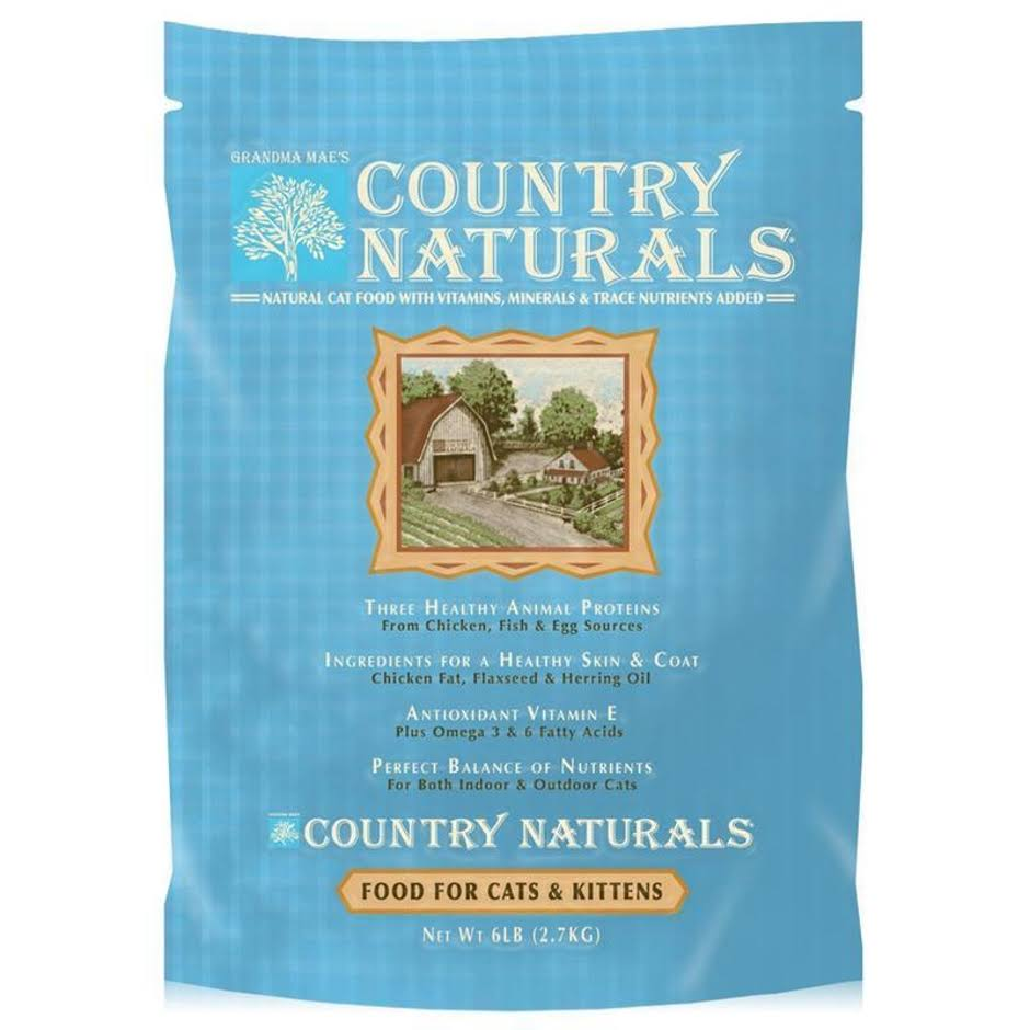 Grandma Maes Country Naturals Cat and Kitten Food - 6lbs