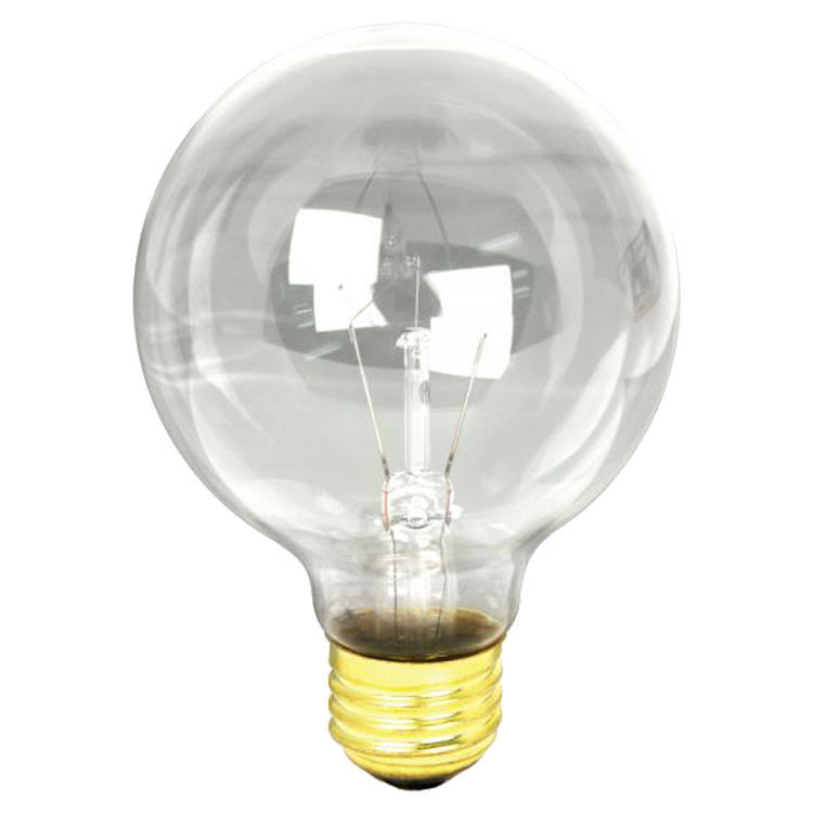 Feit Electric Bath and Vanity Clear Light Bulb - 25W