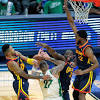 Short on centers, Warriors' quick fix may be to play game at a ...