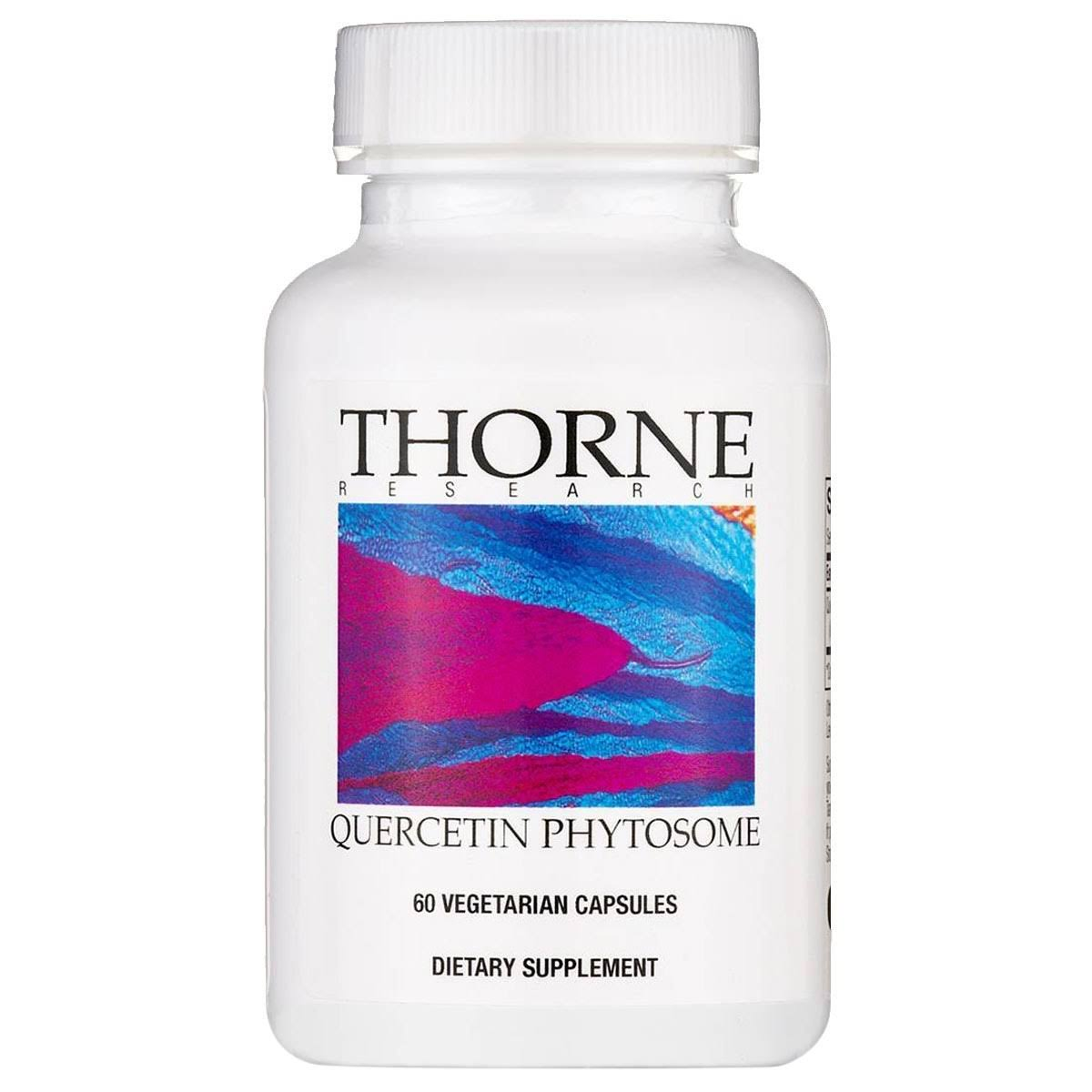 Thorne Research Quercetin Phytosome Supplements - 60ct
