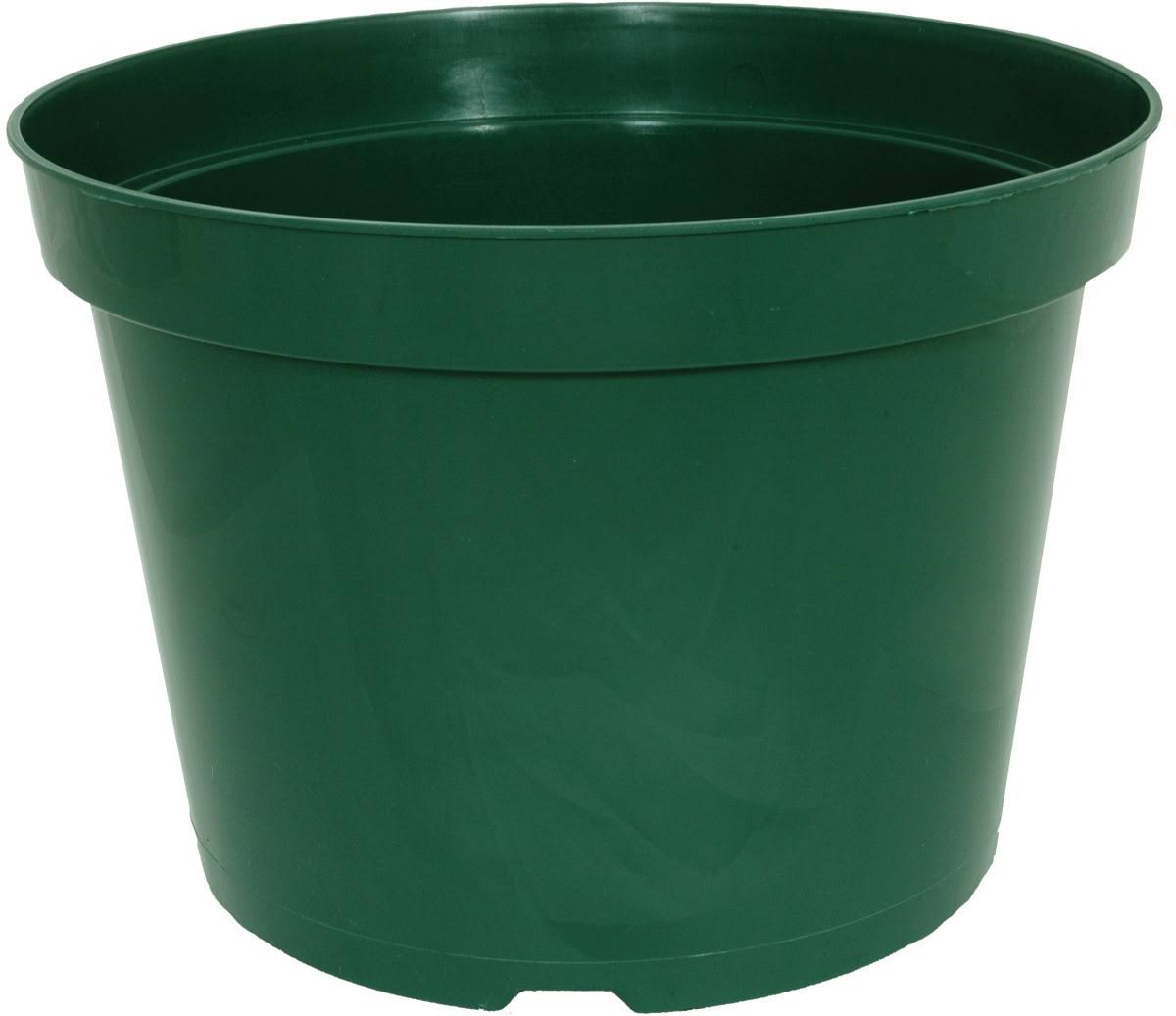Planters Pride AZE060030G Round Grower Pot - Green, 6""