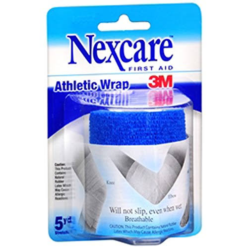 Nexcare 3M Athletic Wrap Blue Tape - 3x5yd