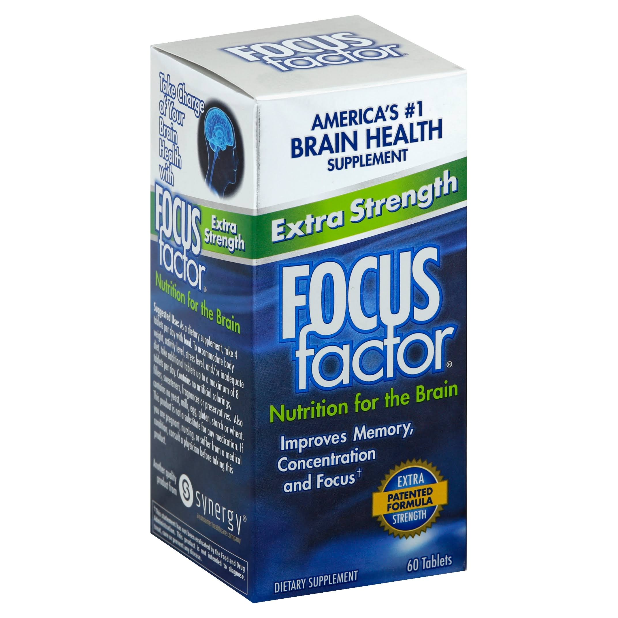 Focus Factor Extra Strength Dietary Supplement - 60ct
