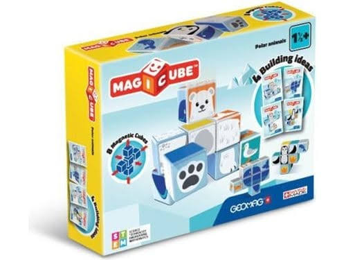 Geomag MagiCube Polar Animals - x8