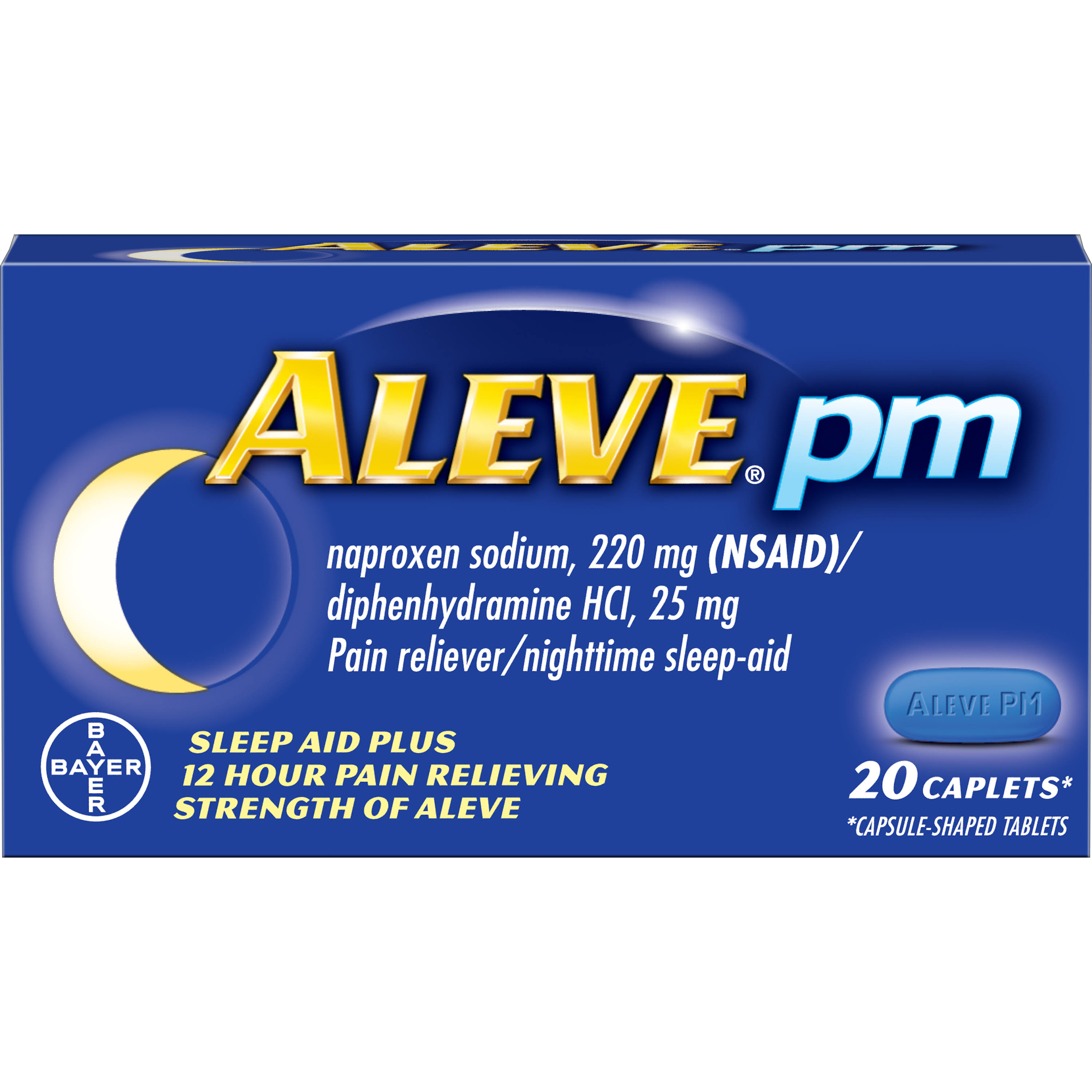 Bayer Aleve PM Sleep Aid - 20 Caplets