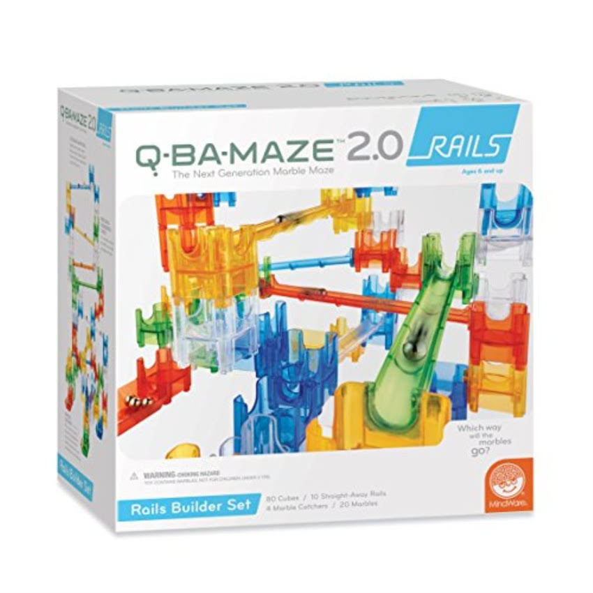 MindWare Q-BA-MAZE 2.0 Rails Builder Toy Set