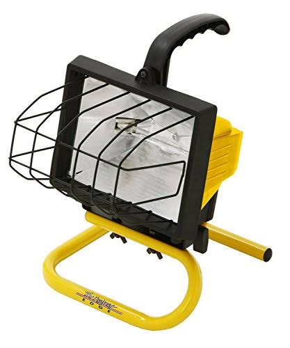 Bayco Portable Halogen Worklight - 500w
