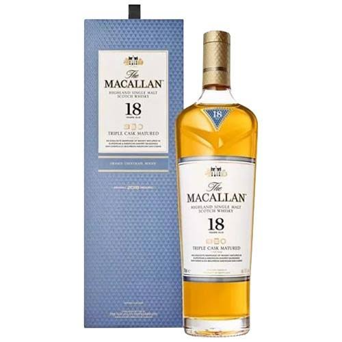 The Macallan Scotch Single Malt 18 Year Triple Cask - 750ml