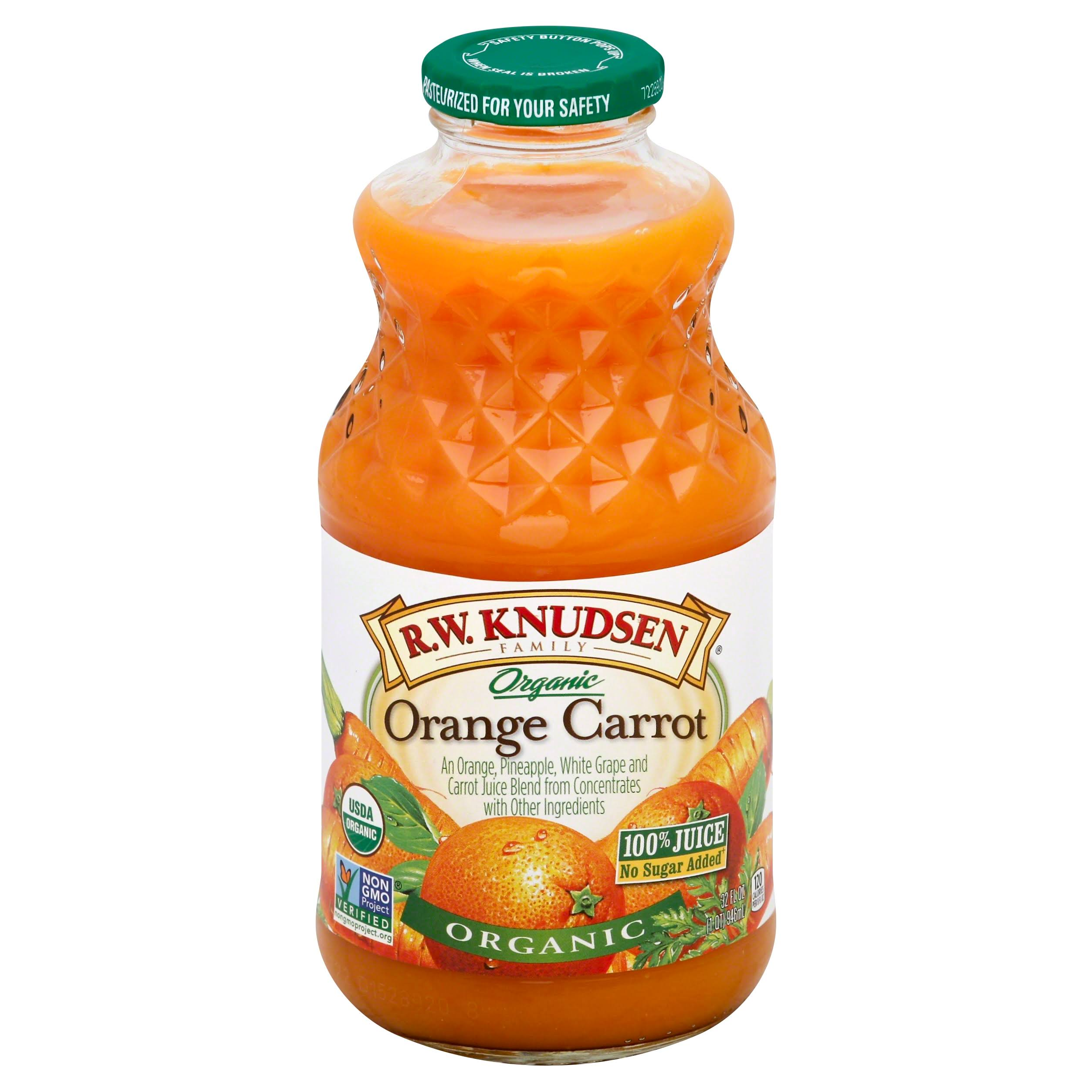 R.W. Knudsen Family Organic Orange Carrot Juice - 32oz