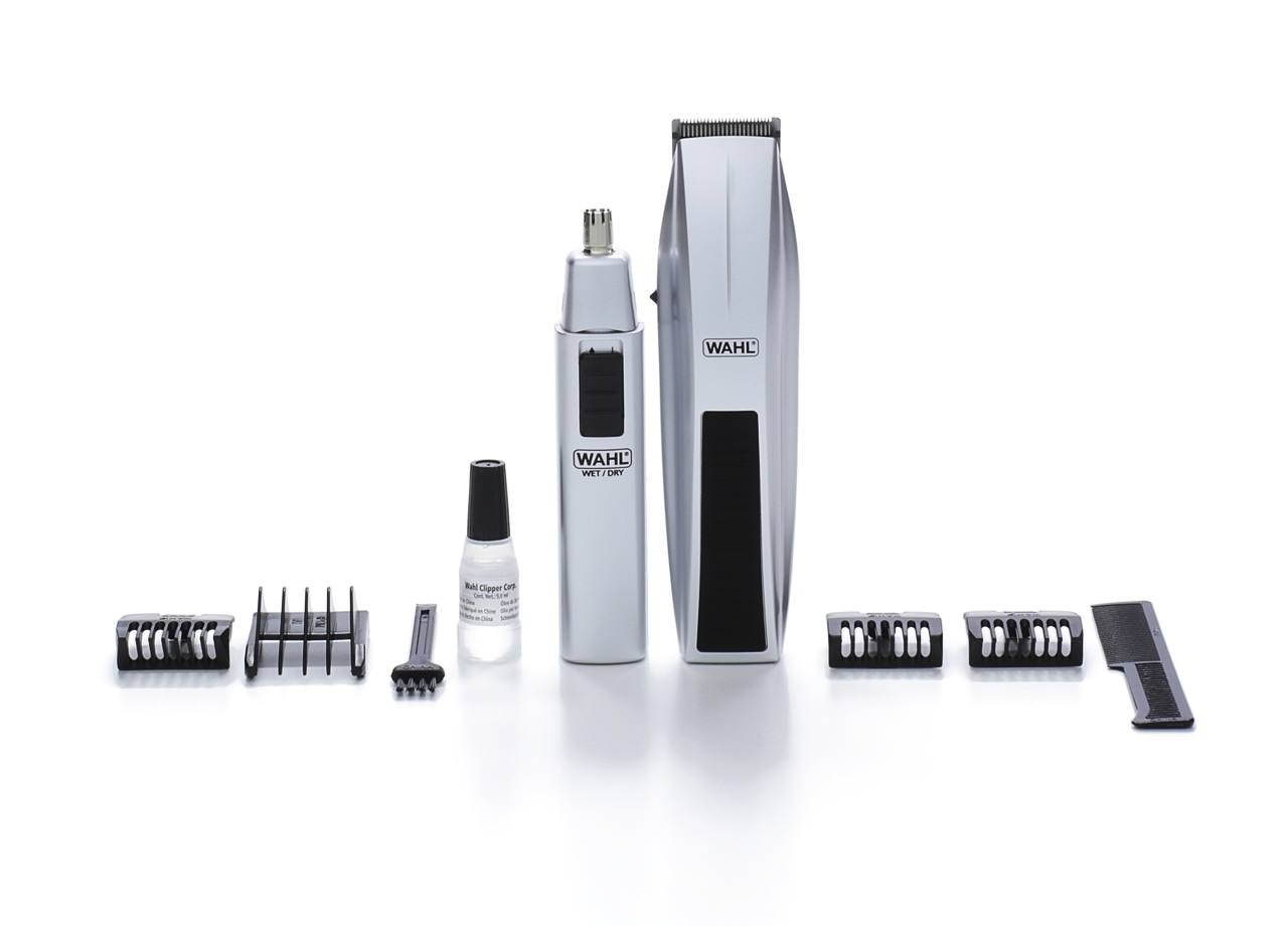 Wahl Mustache and Beard Battery Trimmer Kit