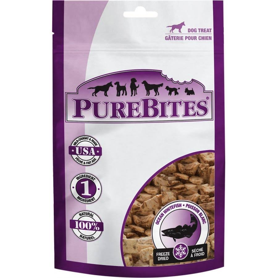 PureBites Ocean Whitefish Dog Treats - 1.8oz