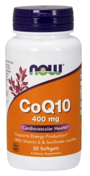 Now Foods High Potency CoQ10