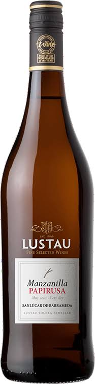 Lustau Solera Reserva Light Sherry Manzanilla Papirusa - 750 ml bottle