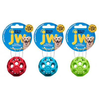 JW Pet Ho-Lee Roller Dog Toy - Mini, 2""