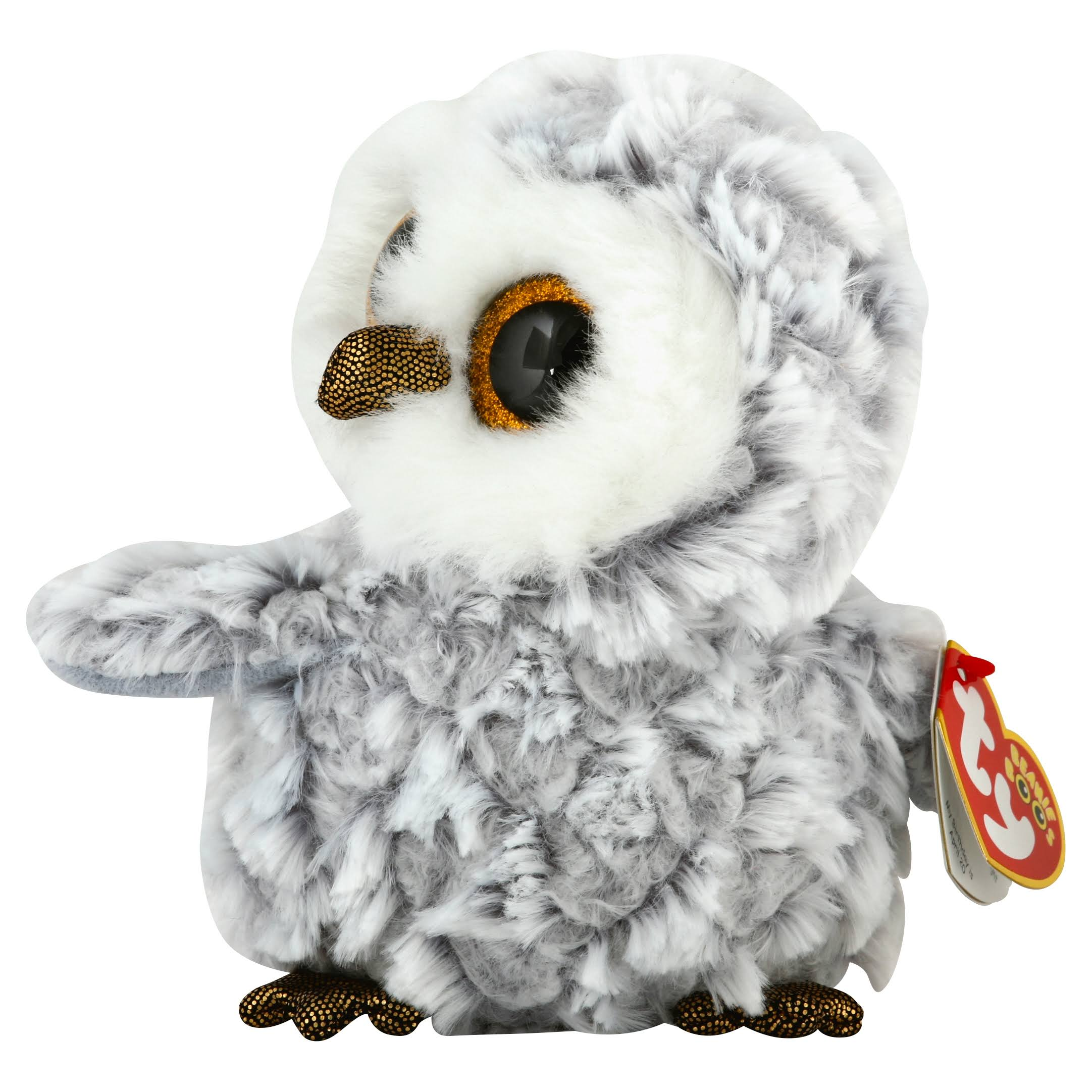 Ty The Beanie Boo's Collection Owlette, White, Regular