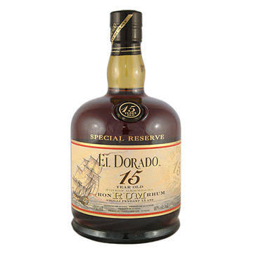 El Dorado Rum - 15 Year Old, 750ml