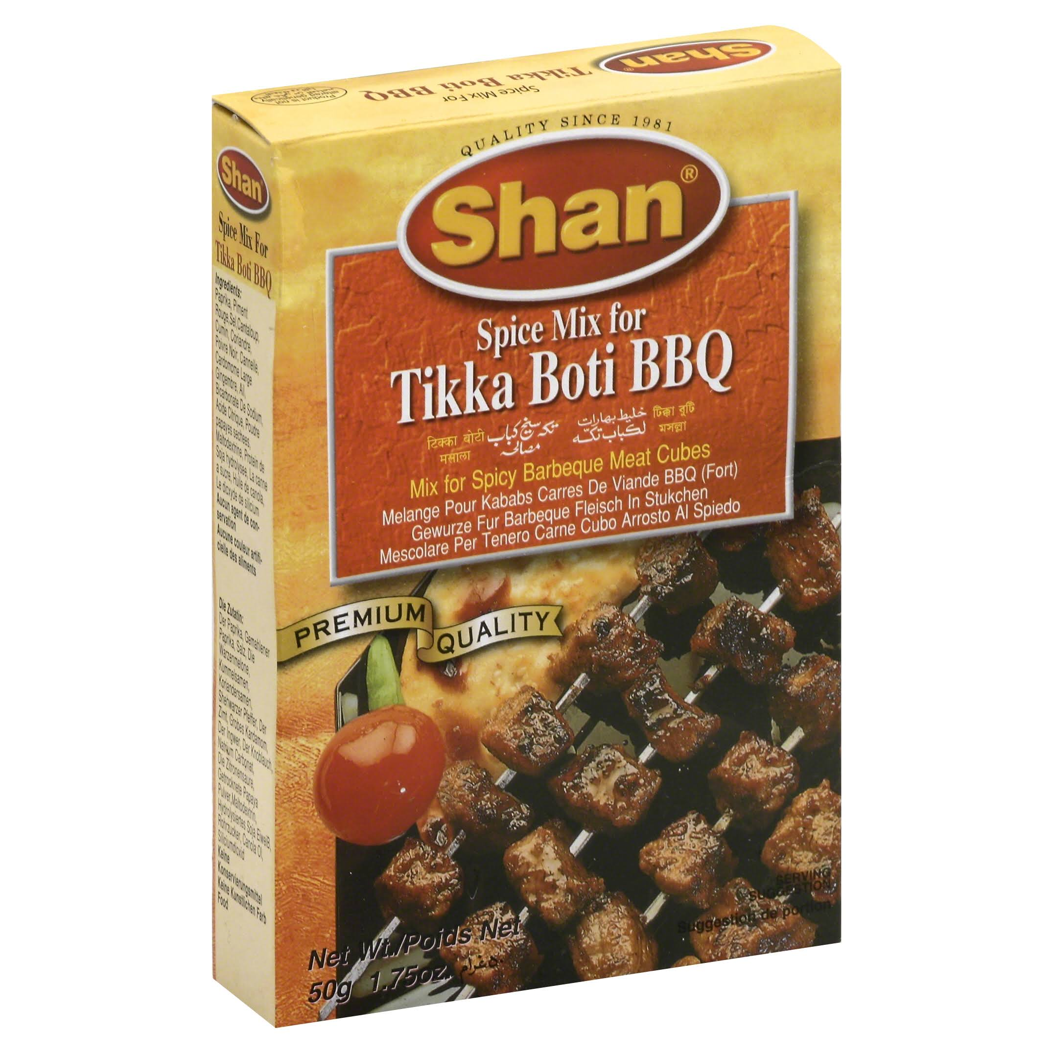 Shan Spice Mix, for Tikka Boti BBQ - 1.75 oz