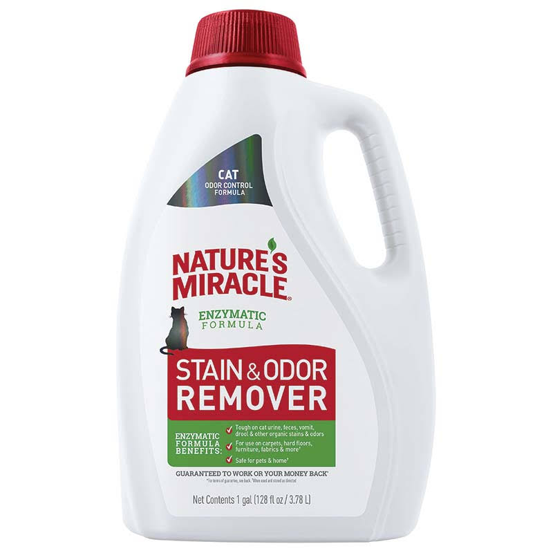 Natures Miracle Stain and Odor Remover - 1gal