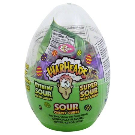 Warheads Easter Egg Sour Candy - 120g