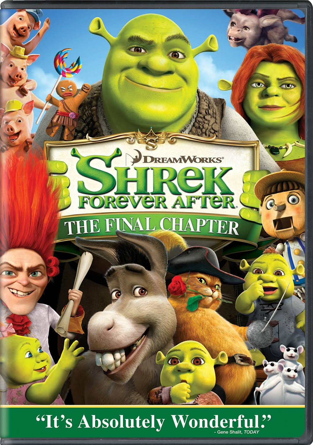 Shrek Forever After - DVD
