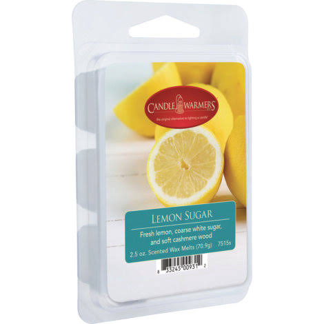 Candle Warmers Scented Wax Melts - Lemon Sugar, 2oz