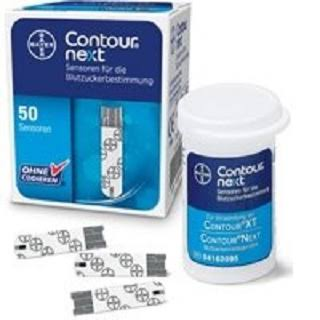Contour Next Blood Glucose Test Strips - x50