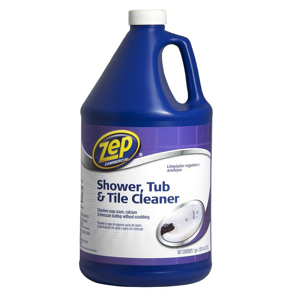 Zep Shower Tub and Tile Cleaner - 128oz
