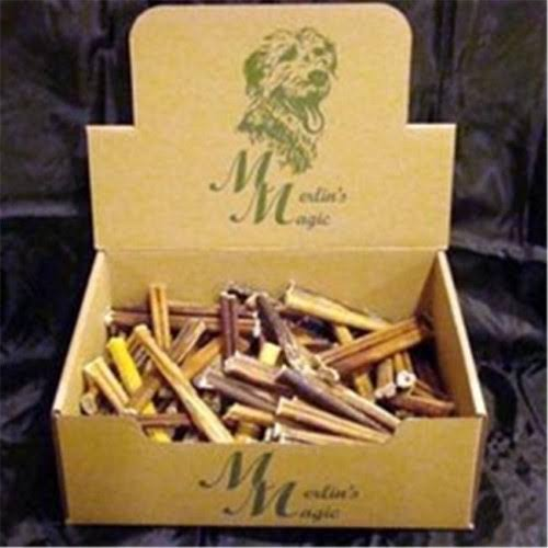 Merlins Magic MM01001 6 in. Range Bull Sticks - 100 Count