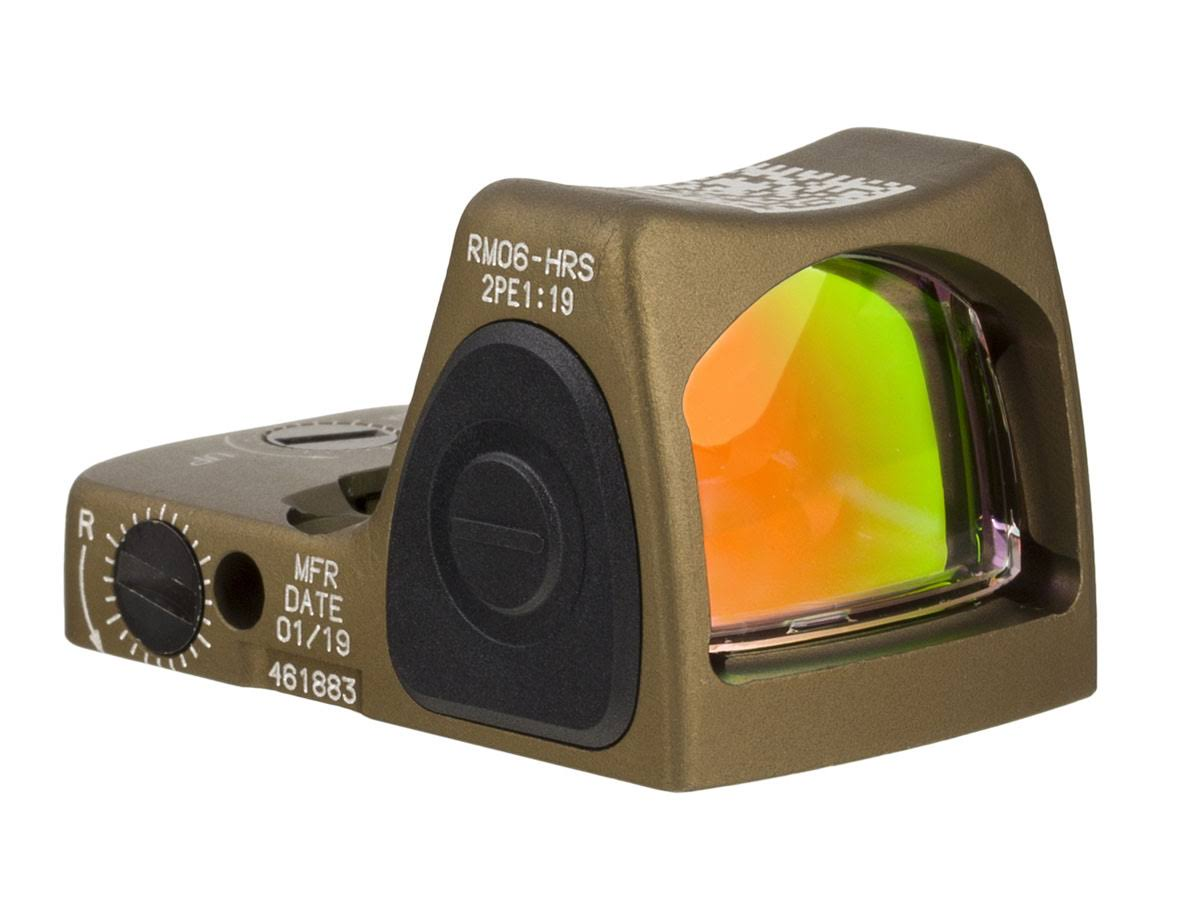 Trijicon 3.25 Adj Moa Red Rmr Type 2; Ha Cyte Brwn