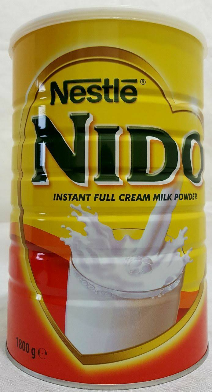 Nestle Nido Instant Full Cream Milk Powder - 2.5kg