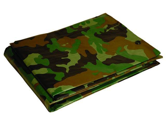Foremost Dry Top Tarp Camouflage - Green