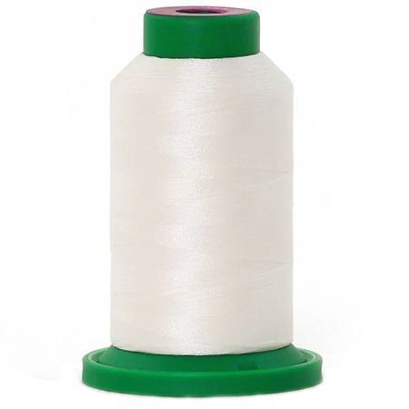 Isacord Polyester Thread, White 1000M