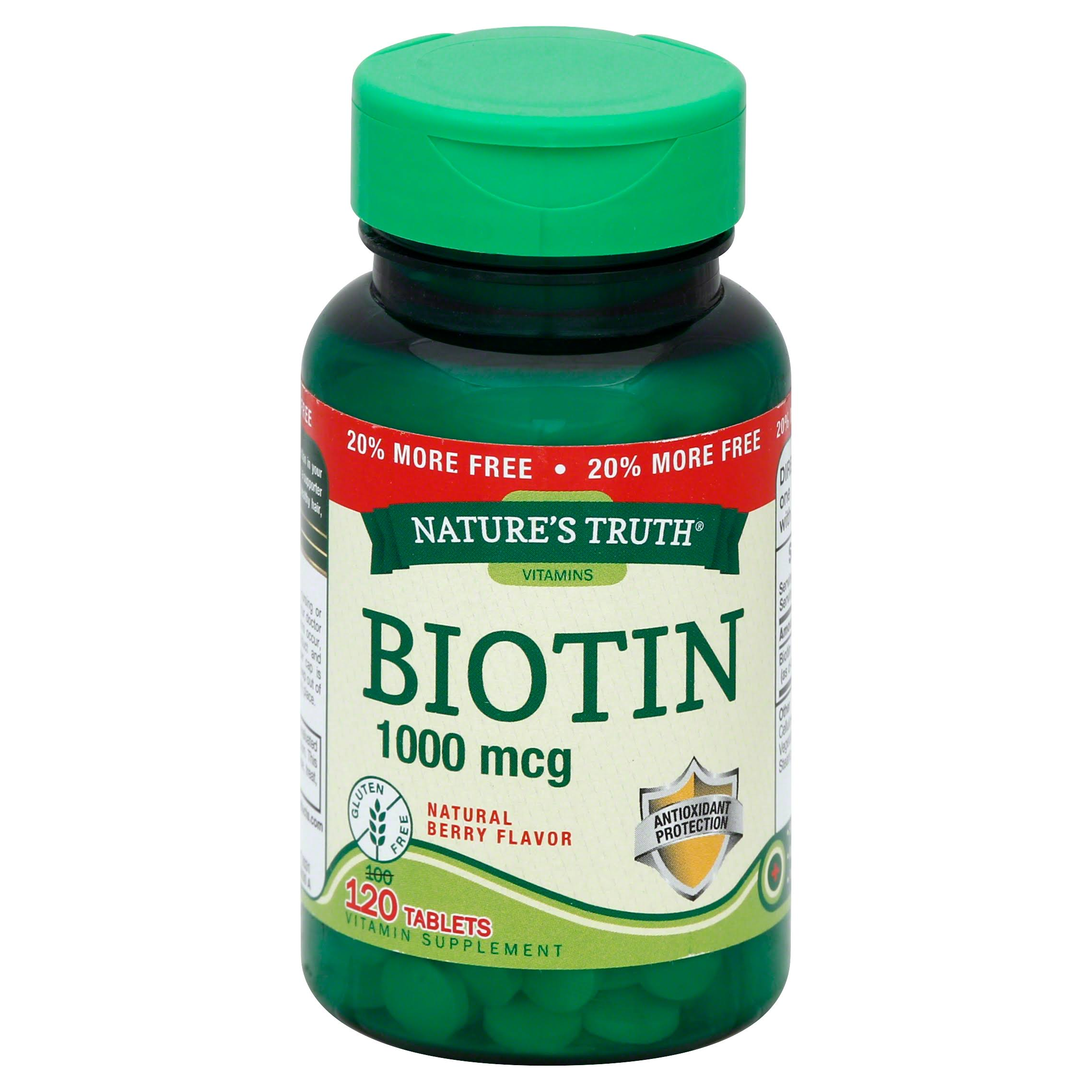 Nature's Truth Biotin - 1000mcg, x120