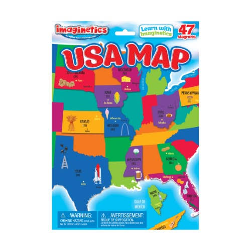 Imaginetics Magnetic USA Map