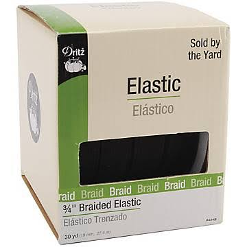 "Dritz Braided Elastic - 4"" x 30yds"