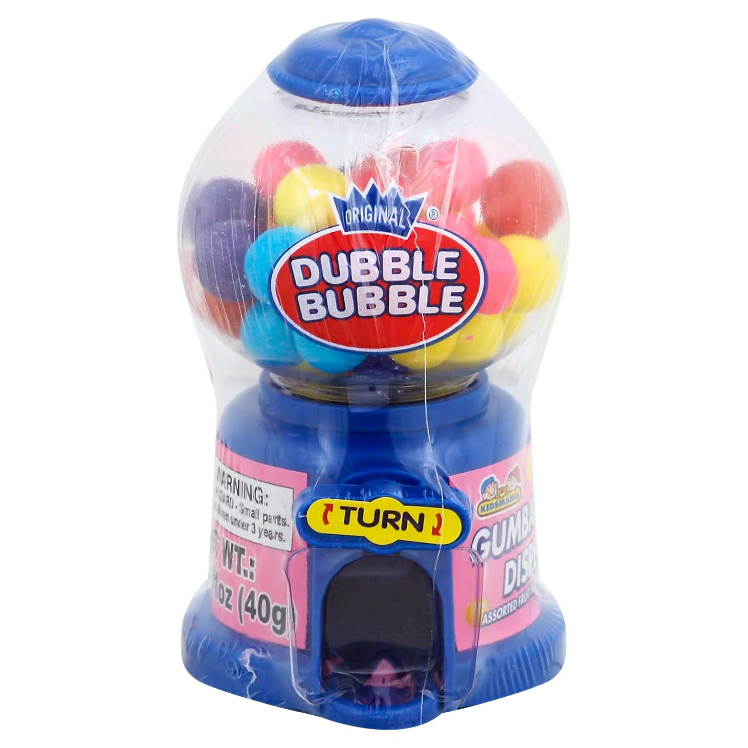 Dubble Bubble Gumball Dispenser, Original - 1.41 oz