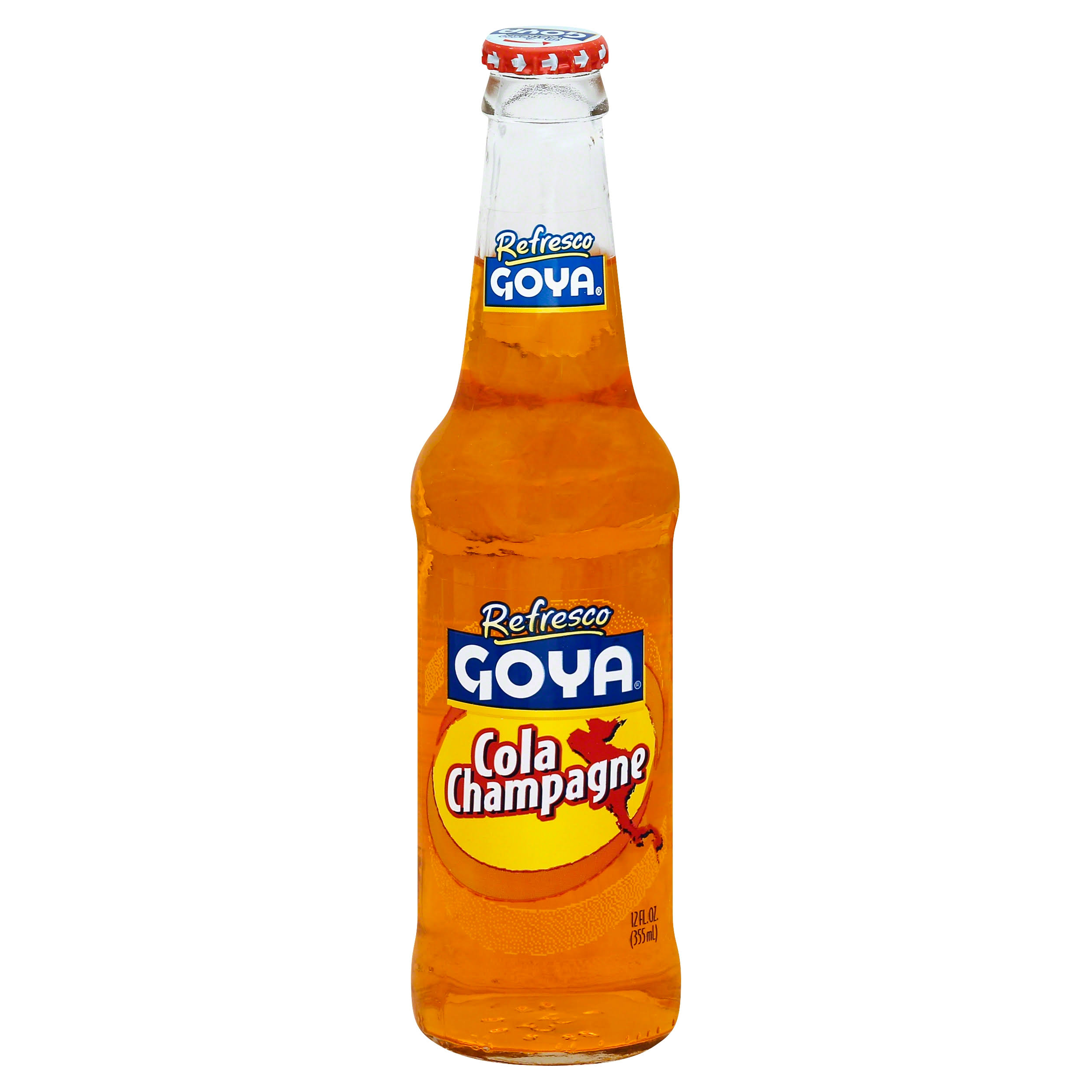 Goya Refresco Cola Champagne - 12 Oz