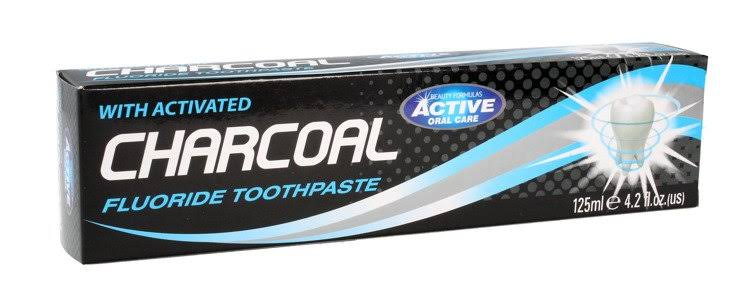 Beauty Formulas Activated Charcoal Fluoride Toothpaste 125ml